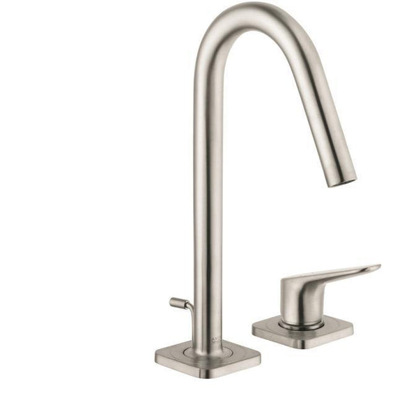 "Axor Bathroom Sink Faucet Brushed Nickel AXOR ""Citterio M"" Vessel Filler Bathroom Sink Faucet"