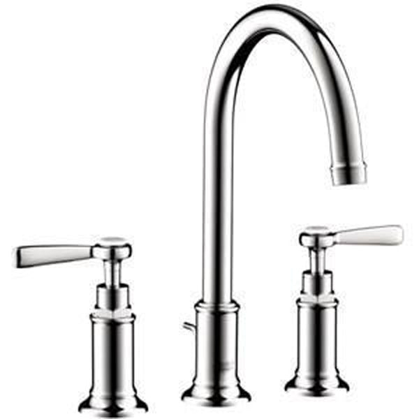 "Axor Bathroom Sink Faucet Chrome AXOR ""Montreux"" 8'' Widespread Bathroom Sink Faucet"