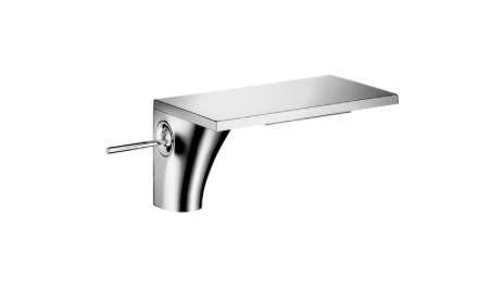 "Axor bathroom sink faucet Chrome Hansgrohe Axor ""Massaud"" Short Single-HoleFaucet in Chrome"
