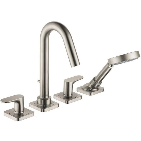 "Axor Tub Faucet Brushed Nickel AXOR ""Citterio"" Tub Faucet Trim Kit"