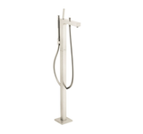 "Axor Tub-Filler Brushed Nickel Hansgrohe ""Axor Cittero"" Freestanding Tub-Filler"