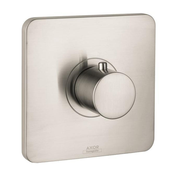 "Axor Valve Trim Brushed Nickel AXOR  ""Citterio"" Thermostatic Valve Trim"