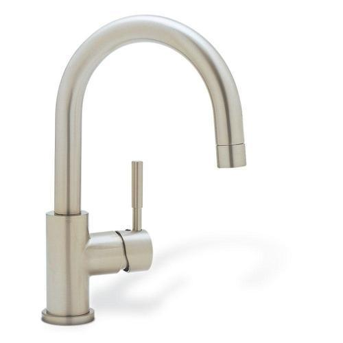 "Blanco Bar Faucet Satin Nickel Blanco ""Meridian"" Single Hole Bar Faucet"