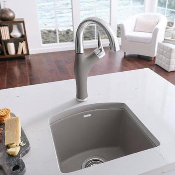 "Blanco bar/prep faucet Blanco ""Artona "" Single Hole Bar Kitchen Faucet"