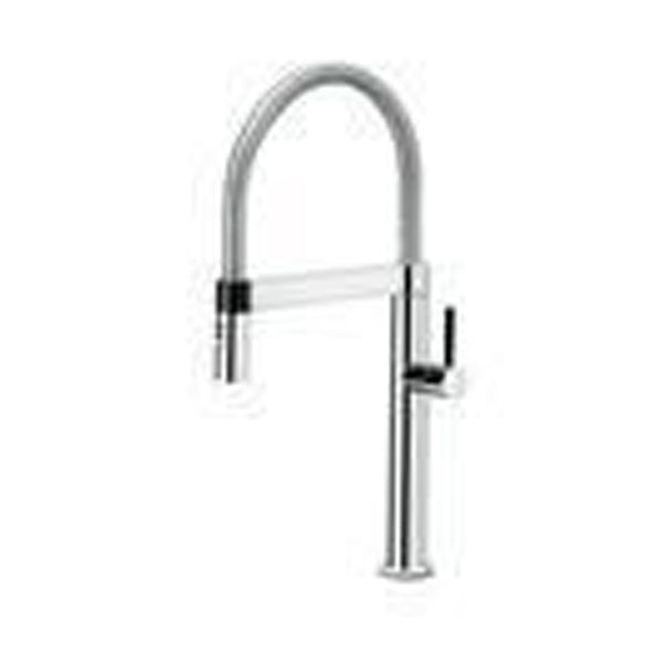 "Blanco Kitchen Faucet Chrome Blanco ""Culina"" Pull-Out Spray Kitchen Faucet"