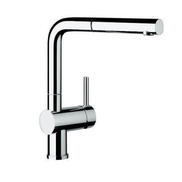 "Blanco Kitchen Faucet Chrome Blanco ""Linus"" Pull-Out Spray Kitchen Faucet"