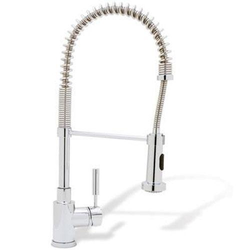 "Blanco Kitchen Faucet Chrome Blanco ""Meridian"" Pull-Out Spray Kitchen Faucet"