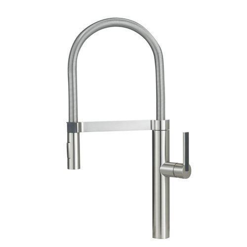 "Blanco Kitchen Faucet Satin Nickel Blanco ""Culina"" Pull-Out Spray Kitchen Faucet"