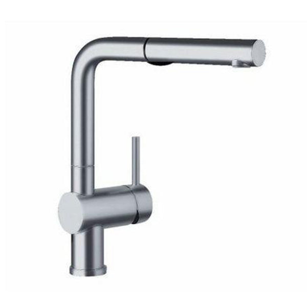 "Blanco Kitchen Faucet Satin Nickel Blanco ""Linus"" Pull-Out Spray Kitchen Faucet"