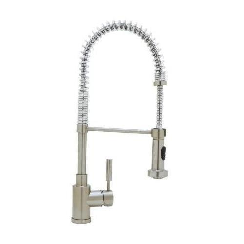"Blanco Kitchen Faucet Satin Nickel Blanco ""Meridian"" Single Handle Kitchen Faucet"