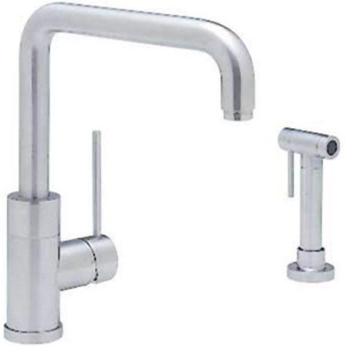 "Blanco Kitchen Faucet Satin Nickel Blanco ""Purus I"" Single Handle Kitchen Faucet"