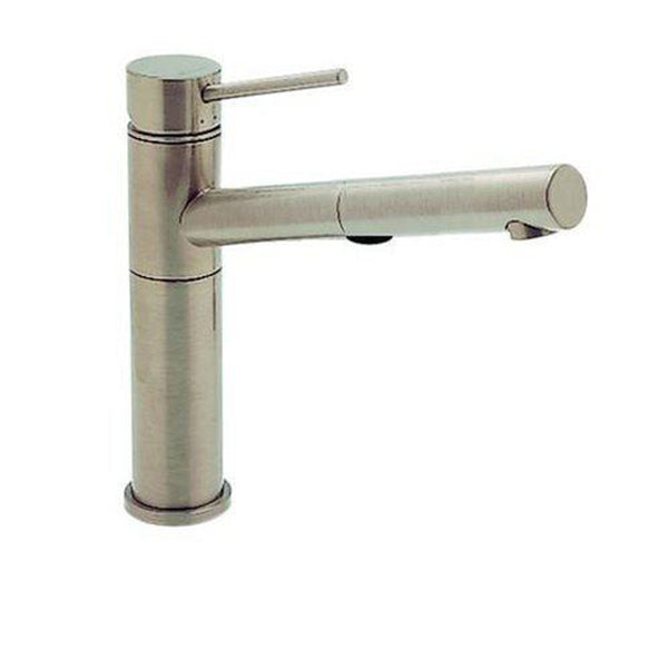 "Blanco Kitchen Faucet Stainless Steel Blanco ""Alta"" Pull-Out Spray Kitchen Faucet"