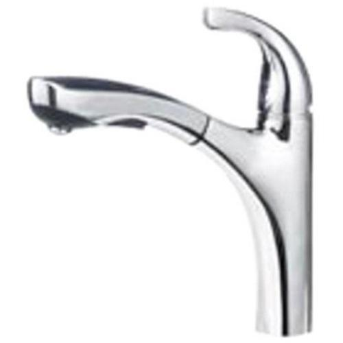 "Blanco Kitchen Faucet Stainless Steel Blanco  ""Hiland"" Pull-Out Spray Kitchen Faucet"