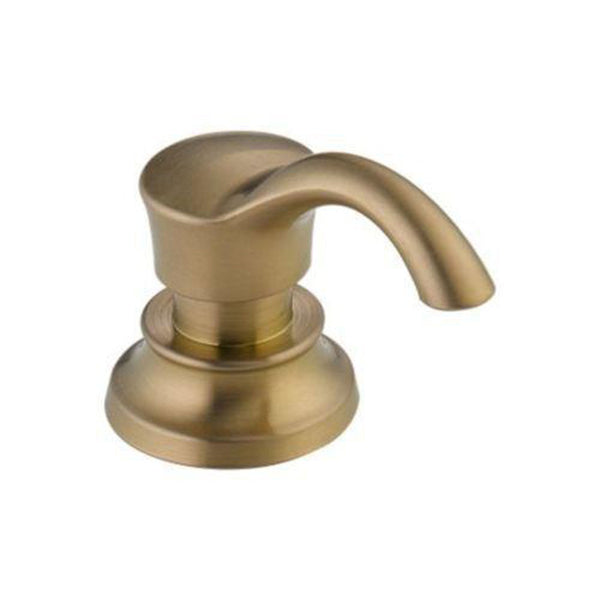 Delta Accessories Champagne Bronze Delta RP71543 Cassidy: Soap/Lotion Dispenser And Bottle