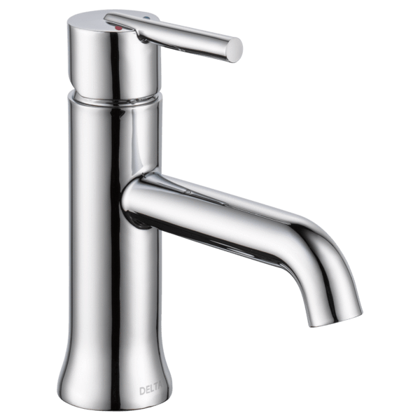 Delta bathroom sink faucet Chrome Delta Trinsic: Single Handle Lavatory Faucet - Less Pop Up