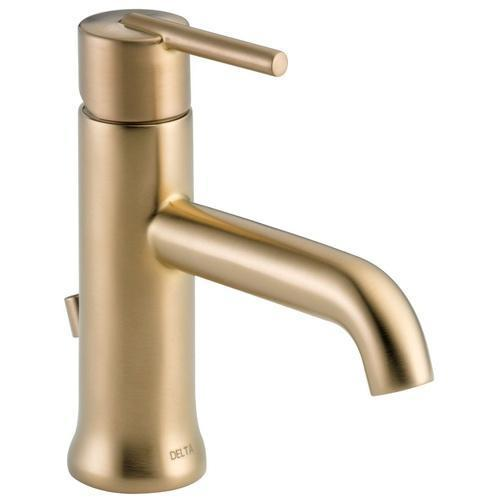 Delta bathroom sink faucet Delta Trinsic: Single Handle Lavatory Faucet - Metal Pop-Up