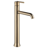 Delta bathroom sink faucet Delta Trinsic: Single Handle Vessel Lavatory Faucet