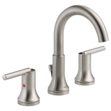 Delta bathroom sink faucet Delta Trinsic: Two Handle Widespread Lavatory - Metal Pop-Up