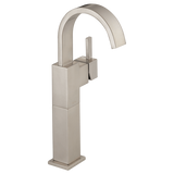 Delta bathroom sink faucet Delta Vero: Single Handle Vessel Lavatory Faucet