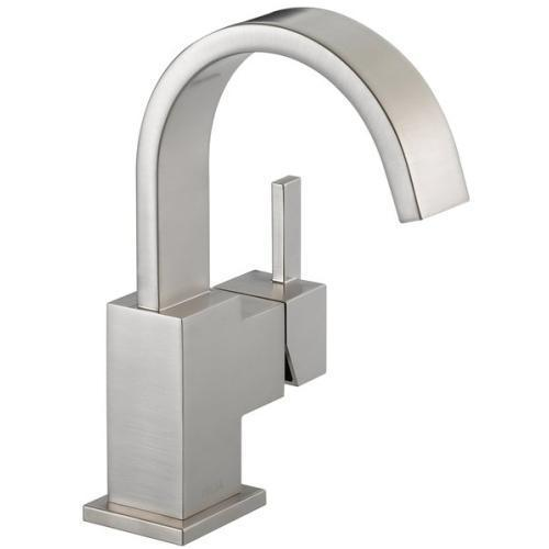 Delta bathroom sink faucet Stainless Delta Vero: Single Handle Lavatory Faucet