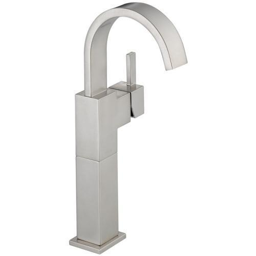 Delta bathroom sink faucet Stainless Delta Vero: Single Handle Vessel Lavatory Faucet