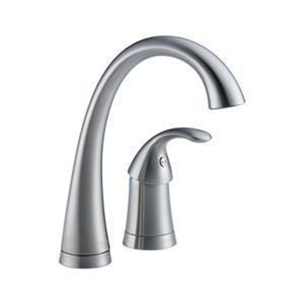 Delta kitchen faucet Arctic Stainless Delta Pilar: Single Handle Bar / Prep Faucet