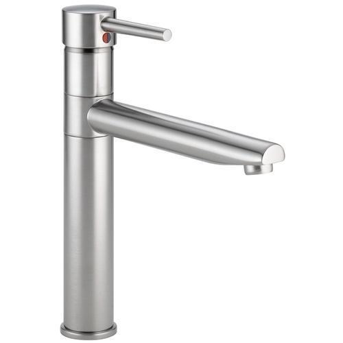 Delta kitchen faucet Arctic Stainless Delta Trinsic: Single Handle Kitchen Faucet