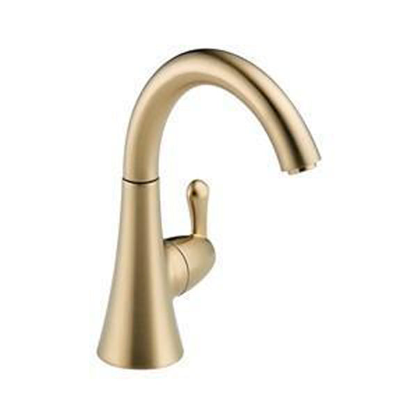 Delta kitchen faucet Champagne Bronze Delta: Beverage Faucet - Transitional