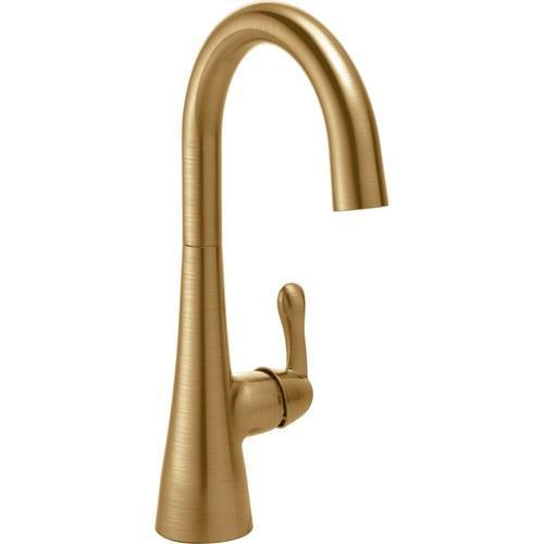 Delta kitchen faucet Champagne Bronze Delta: Single Handle Bar / Prep Faucet