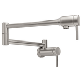 Delta kitchen faucet Delta: Contemporary Wall-Mount Pot Filler Faucet