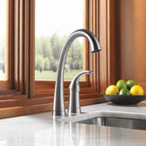 Delta kitchen faucet Delta Pilar: Single Handle Bar / Prep Faucet