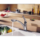 Delta kitchen faucet Delta Signature: Single Handle Pull-Out Kitchen Faucet