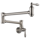 Delta kitchen faucet Delta: Wall Mount Pot Filler Faucet - Traditional
