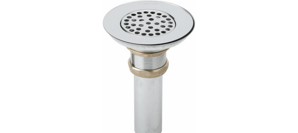 Elkay Accessories Polished Stainless Steel Elkay Drain Type 304 Stainless Steel Body, Strainer and Tailpiece