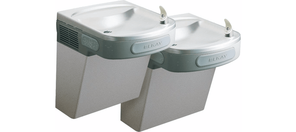 Elkay Coolers and Fountains Elkay Versatile Cooler Wall Mount Bi-Level ADA Non-Filtered, 8 GPH Stainless