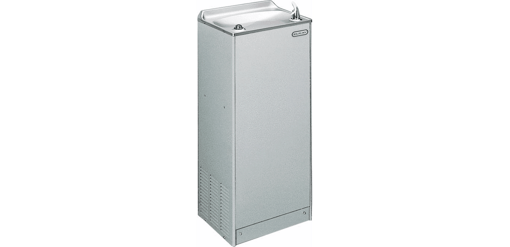 Elkay Coolers and Fountains Light Gray Granite Elkay Cooler Floor Mount Non-Filtered 16 GPH Light Gray Granite