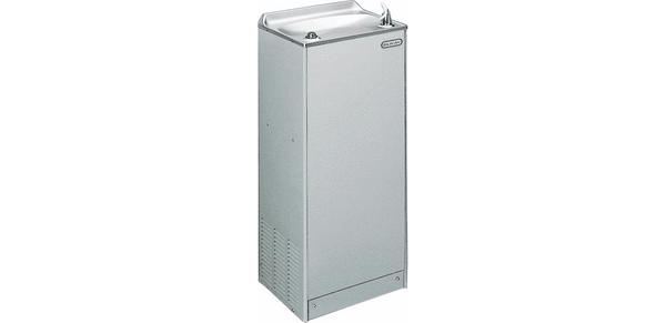 Elkay Coolers and Fountains Light Gray Granite Elkay Cooler Floor Mount Non-Filtered 20 GPH Light Gray Granite