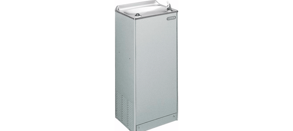 Elkay Coolers and Fountains Light Gray Granite Elkay Cooler Floor Mount Non-Filtered 4 GPH Light Gray Granite