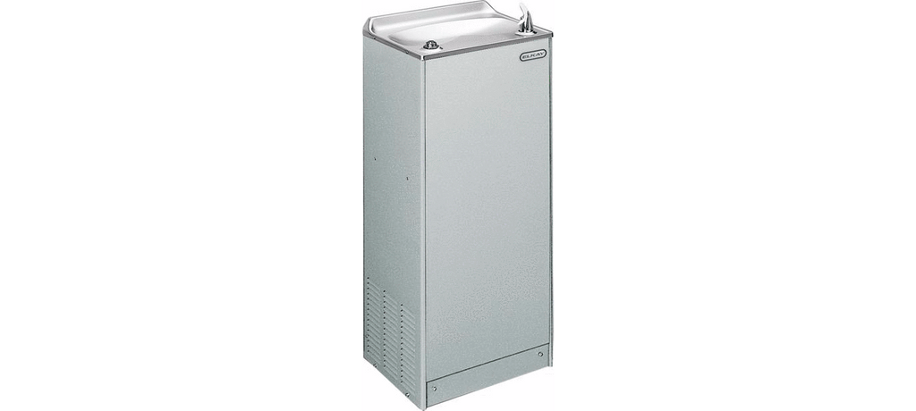 Elkay Coolers and Fountains Stainless Elkay Cooler Floor Mount Non-Filtered 20 GPH Stainless