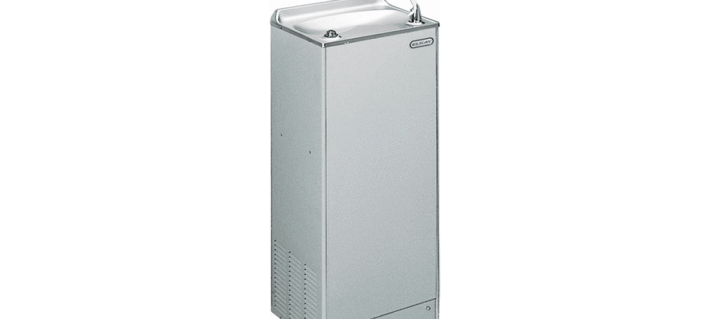 Elkay Coolers and Fountains Stainless Elkay Cooler Floor Mount Non-Filtered 4 GPH Stainless