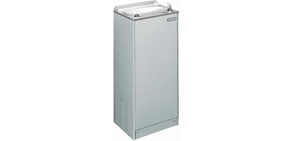 Elkay Coolers and Fountains Stainless Elkay Cooler Floor Mount Non-Filtered 8 GPH Stainless
