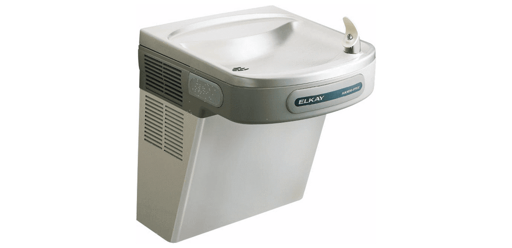 Elkay Coolers and Fountains Stainless Elkay Cooler Wall Mount ADA Hands-Free Non-Filtered, Non-Refrigerated Stainless