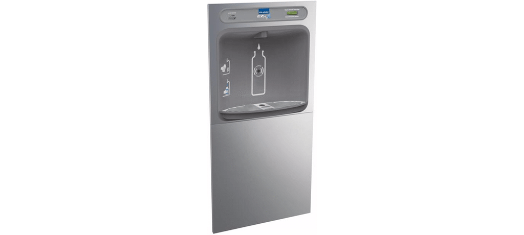 Elkay Coolers and Fountains Stainless Elkay EZH2O In-Wall Bottle Filling Station, Filtered Non-Refrigerated Stainless