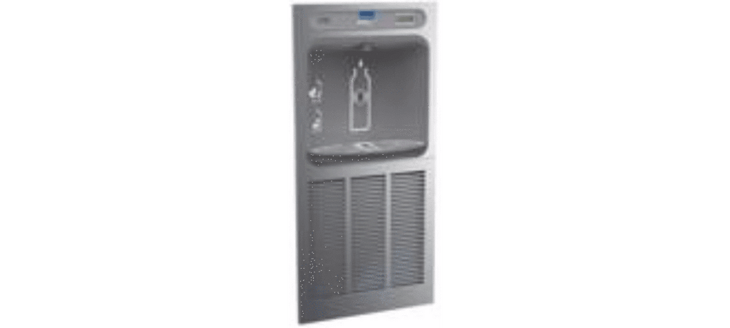 Elkay Coolers and Fountains Stainless Elkay EZH2O In-Wall Bottle Filling Station, Non-Filtered 8 GPH Stainless