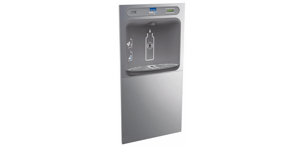Elkay Coolers and Fountains Stainless Elkay EZH2O In-Wall Bottle Filling Station, Non-Filtered Non-Refrigerated Stainless