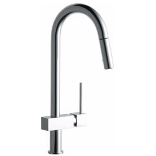 "Elkay kitchen faucet Chrome Elkay ""Avado"" Pull-Down Kitchen Faucet"