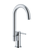 "Franke bar/prep faucet Polished Chrome Franke ""Manhattan"" Bar Faucet"