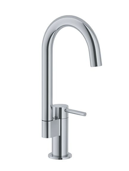 "Franke bar/prep faucet Satin Nickel Franke ""Manhattan"" Bar Faucet"