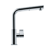 "franke kitchen faucet Polished Chrome Franke ""Mythos"" Pullout  Spray Kitchen Faucet"