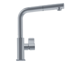 "franke kitchen faucet Satin Nickel Franke ""Mythos"" Pullout  Spray Kitchen Faucet"